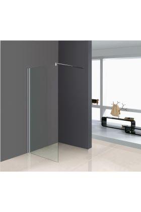 shower glass support bar