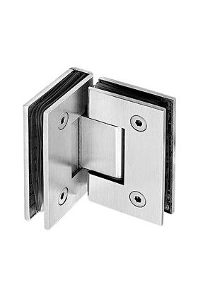 Glass to Glass Hinge / Bracket 90º (HC 204)