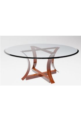 1000mm x 10mm Circular Table Top With Bevelled Edges And Packaging