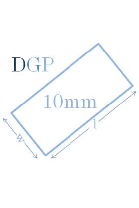 Toughened Glass Panel (2140mm x 450mm x 10mm)