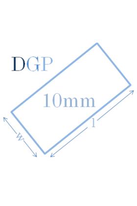 Toughened Glass Panel (2590mm x 250mm x 10mm)