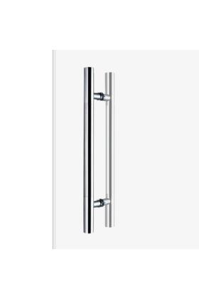 600mm Guardsman Style Glass Door Handle - 400mm centres