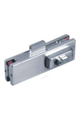 GPD Patch Lock Polished Glass Door Lock for 10mm and 12mm glass