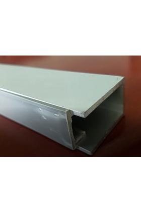 U Channel Cover U channel cover Plate and End Cap Strip - 1000mm - cut to size