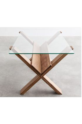 2000mm x 1200mm Rectangular table top with bevelled edges (rounded corners) and packaging
