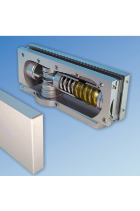 Self Closing Hydraulic Patch for Glass Doors