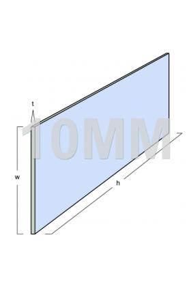 Toughened Glass Panel (2590mm x 900mm x 10mm)